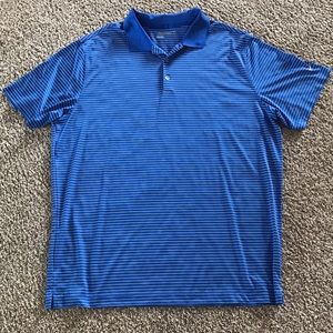 Nike Golf Dri fit polo blue size 2XL EUC